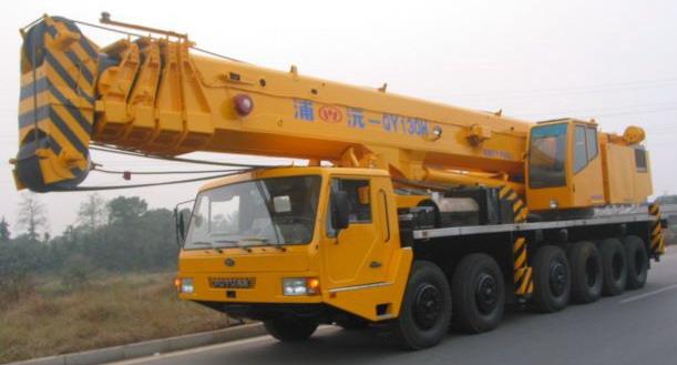 北京货物运输和出租吊车服务,设备安装就位