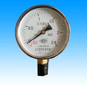 压力真空表YZ100-150