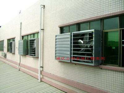 镀锌负压风机 镀锌排风扇 负压排风扇 工业风扇
