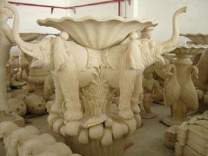 上海景观花盆雕塑