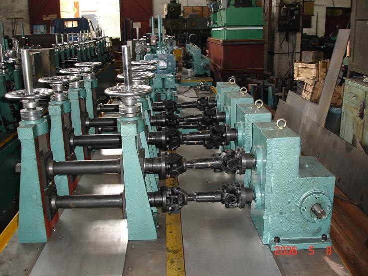 不锈钢管工业制管设备