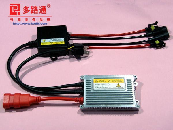 多路通DLT 一拖二超薄HID汽车氙气灯 S600 H/L (套