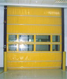 旭日高速堆积门自动卷帘门工业滑升门翻版门提升门滑升门工业堆积门