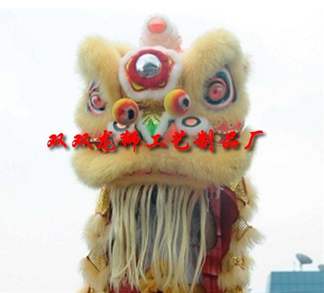 舞狮面具手工制作图片