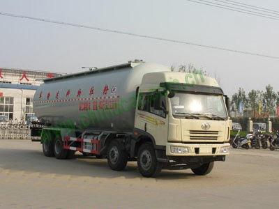 解放粉粒物料运输车