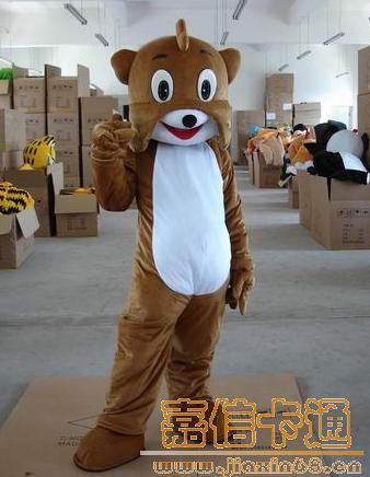 供应卡通沙皮狗服装|卡通服装|卡通人偶服装|卡通道具服装