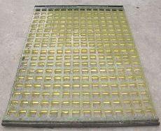 聚氨酯筛板,聚氨酯脱水筛,聚氨酯振动筛网,聚氨酯分级筛网,聚氨酯方孔筛板,细缝筛板