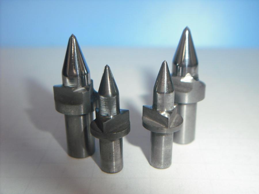 三刃平口型热熔钻