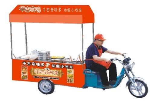 无烟烧烤小吃车 节能环保小吃车 浙江多功能小吃车