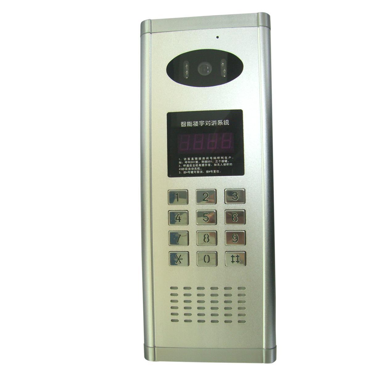 联网型彩色CCD芯片可视主机,深安集团SA专业制造厂家