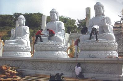 佛像石雕观音、弥勒佛、释迦牟尼、十八罗汉、如来佛等寺庙石雕