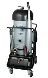 工业真空吸尘机-单相小型机