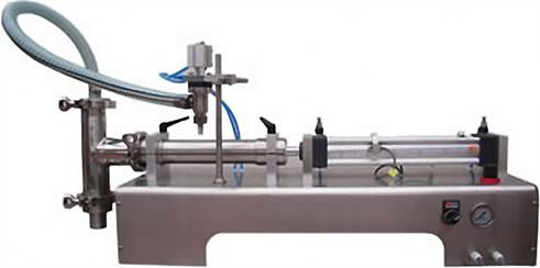 卧式气动液体灌装机 YSGY系列