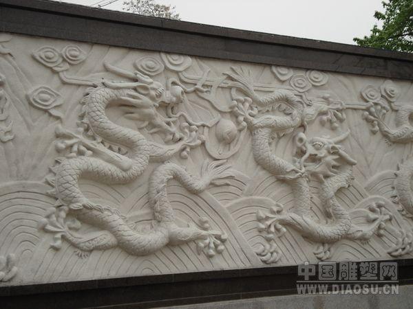 石雕九龙壁,龙壁,石雕龙,华表龙柱中华柱,龙戏珠戏水,蟠龙等