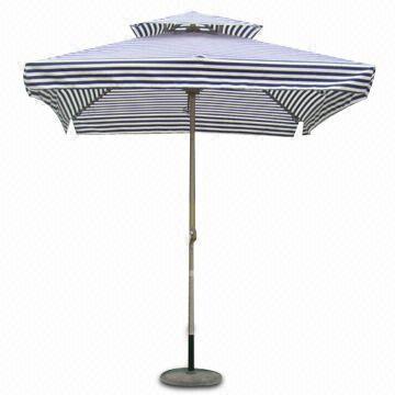 全铝合金方形双层伞