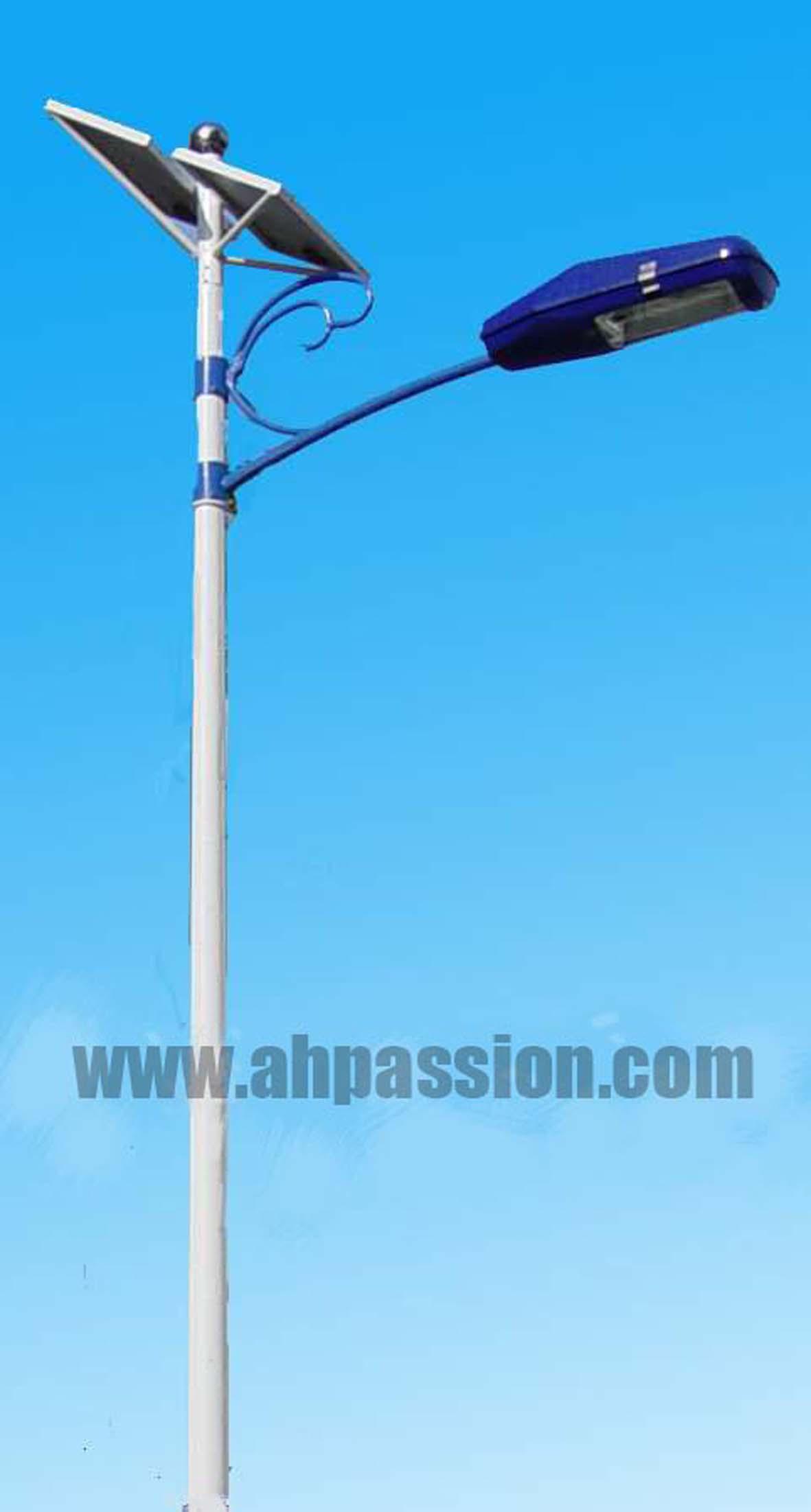 安徽六安陆集村安装了太阳能路灯