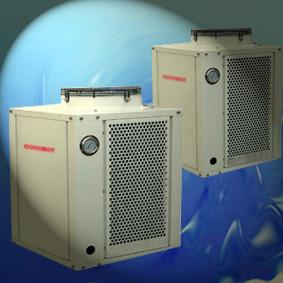 空气能泳池热泵机组︱游泳池专用空气能热水器