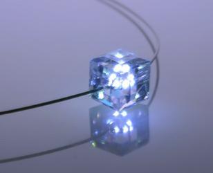 LED发光水晶项链