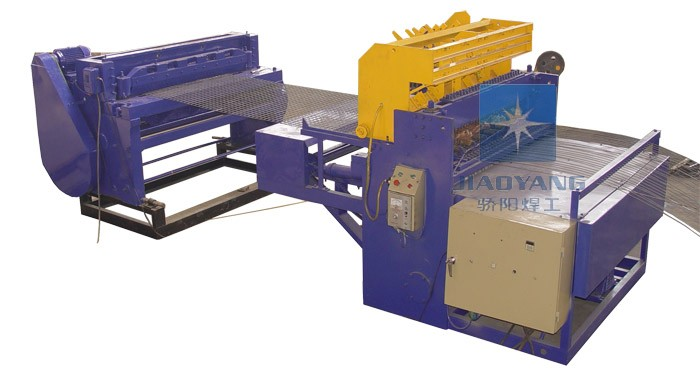 鸡笼网自动排焊机