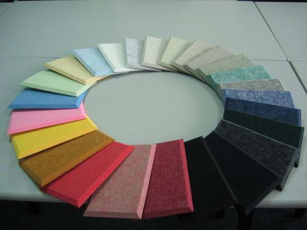 聚脂纤维吸音板吸音装饰板隔音板