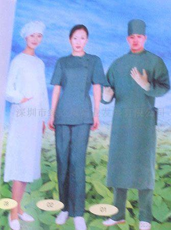 医用材料:手术服,隔离服,医生服,护士服,病员服系列无纺布制品