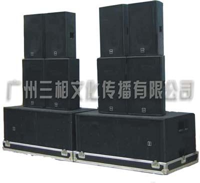 广州专业音响出租:单15双15双18,超低音,高低音炮,超低音炮
