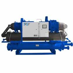供应苏州水冷螺杆式冷水机(双机) 工业冷水机 冷冻机