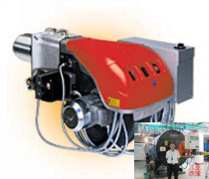 温控器,电眼,变压器,点火棒,检漏,过滤器,加热器等;     工业烧嘴燃烧