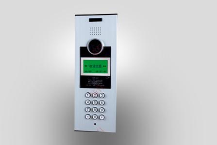 筑仕品牌密码开锁功能门口主机