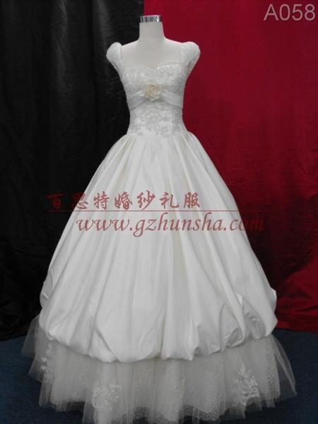 广州百思特婚纱礼服A058