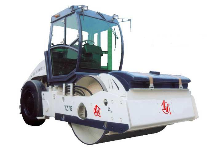 YZ7G轮胎驱动光轮振动压路机