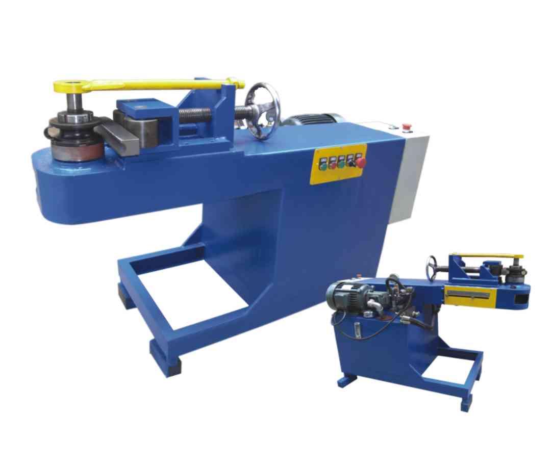 产品大全 | 联系方式  液压平台弯管机采用液压驱动,具有手动自动