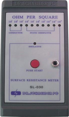 SL-030表面电阻测试仪、防静电测试仪、静电测试仪、离子测试仪