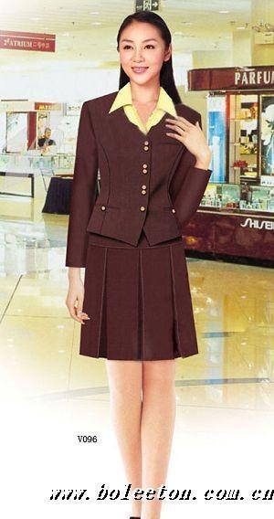 供应各类商场制服、促销服,款式多多,时尚美丽!