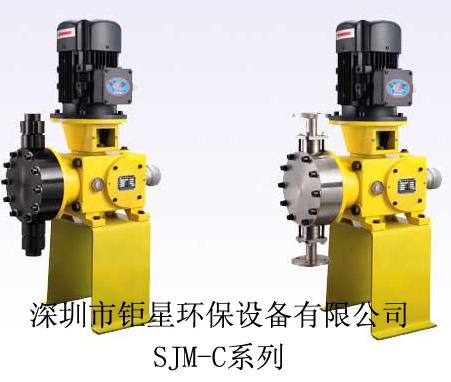 SZ机械隔膜计量泵SJM型