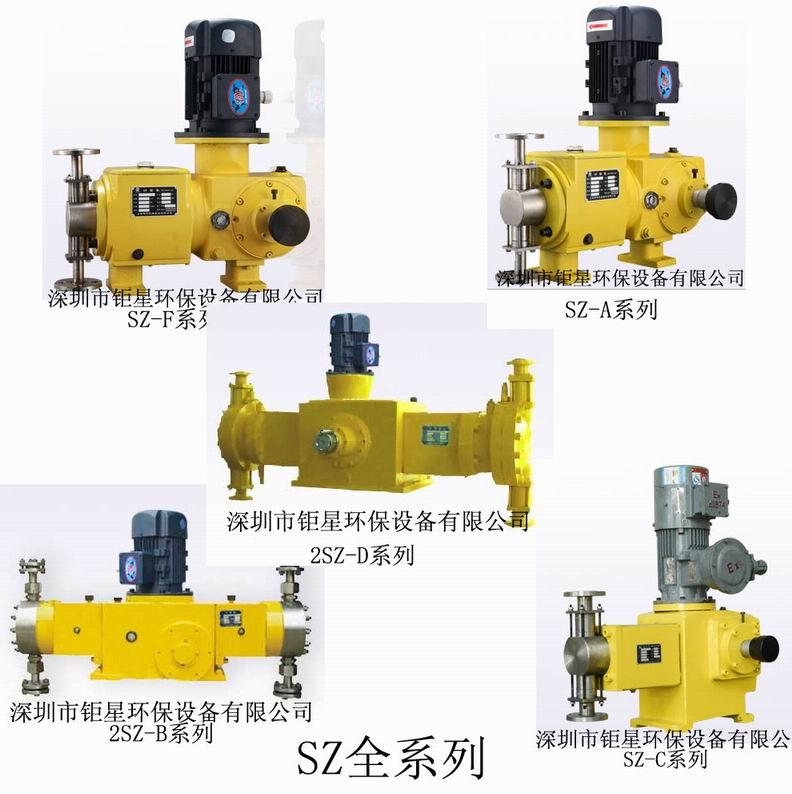 SZ柱塞计量泵SZ型