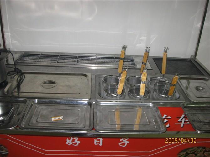 深圳多功能小吃车/无烟无烟烧烤车 无烟烧烤技术培训