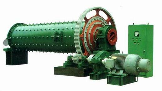 格子型球磨机的内部结构图