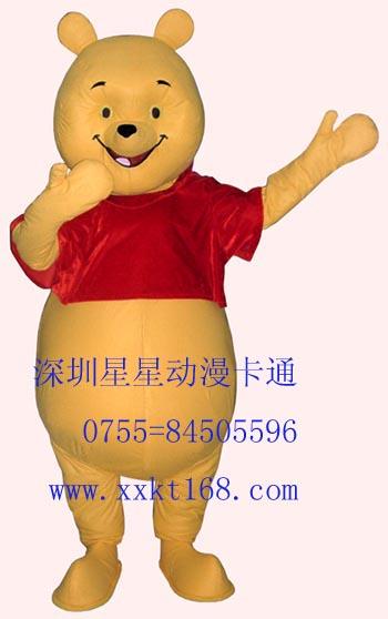 供应深圳星星毛绒卡通服装