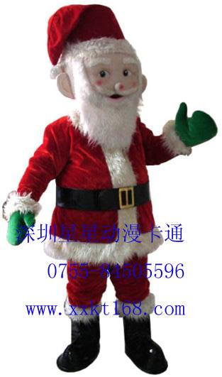 供应深圳星星动漫卡通服装/圣诞老人