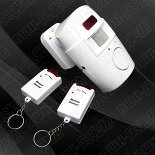 红外遥控电子狗 双遥控红外线报警器