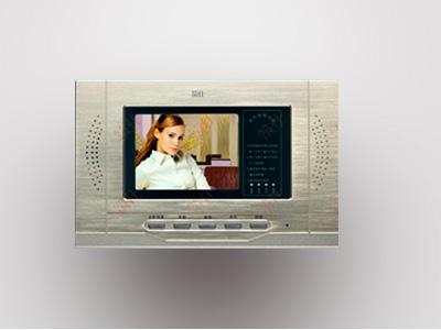 筑仕品牌精品可视免提分机图像清晰音质优美