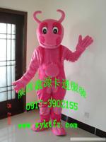 批发重庆卡通人偶服装,卡通道具服饰红牛