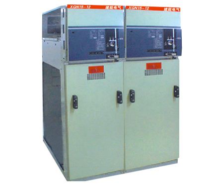 XGN15-12型固定式金属封闭环网高压开关柜