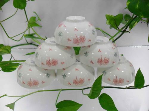 新安陶瓷,新安银叶--镁质日用陶瓷餐具/6件套XD0001