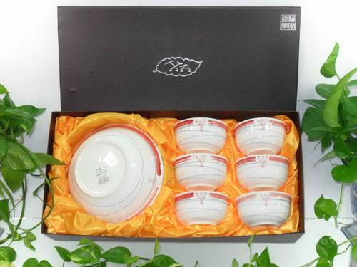 镁质日用陶瓷餐具/7件套XC0001