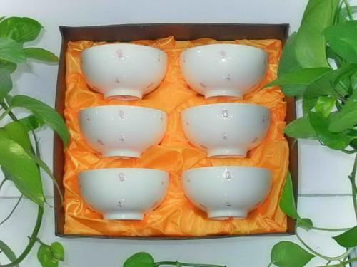 镁质日用陶瓷餐具/6件套XC0030
