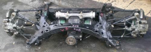 马自达RX8后桥总成,刹车总泵,刹车分泵等汽车配件,拆车件
