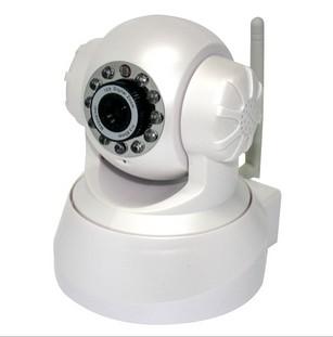 无线网络监控摄像机 带WIFI 万向云台 双向语音