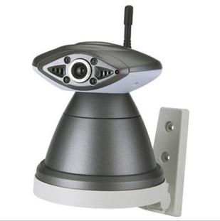 可爱青蛙型 无线网络摄像机 IP摄像头 带红外夜视 带云台